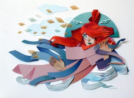 L'arte della carta:celebrare l'immaginazione con le opere d'arte di Morgana Wallace